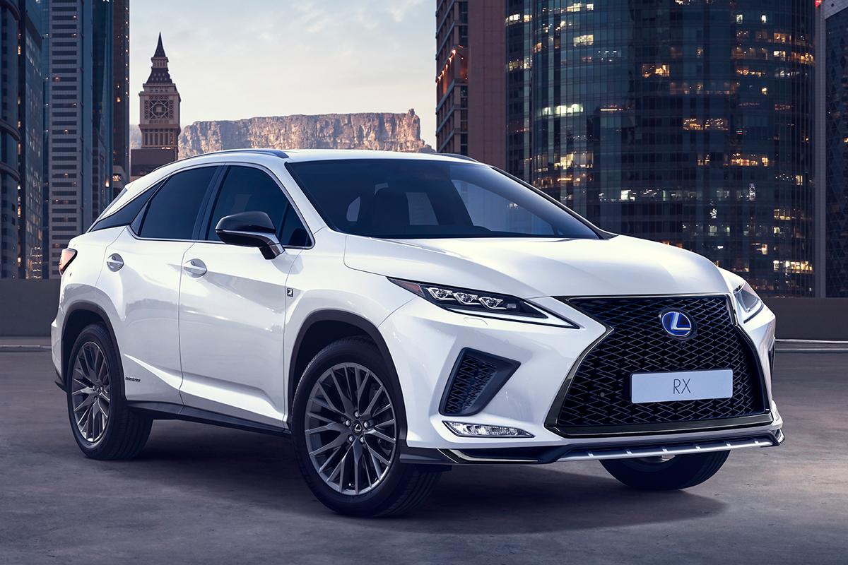 Officieel Lexus Rx Facelift 2019 Autofans