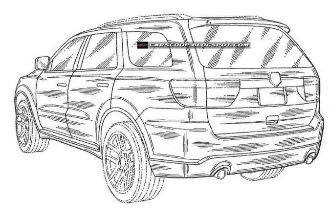 Gelekt: tekeningen Dodge Durango | Autofans