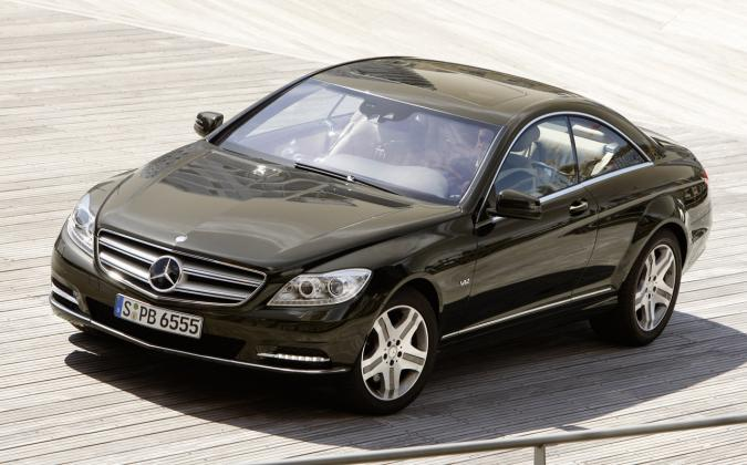 Mercedes CL facelift 2011