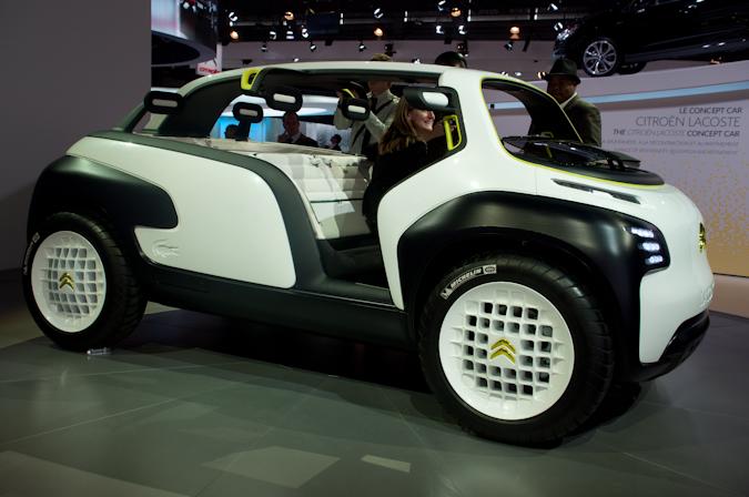 Live In Parijs 2010 Citron Lacoste Concept Autofans