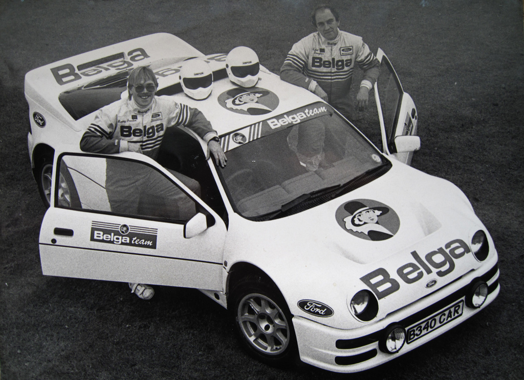 Vergeten Auto #47: Ford RS200 - Robert Droogmans & Ronny Joosten - flickr Hoepertingen