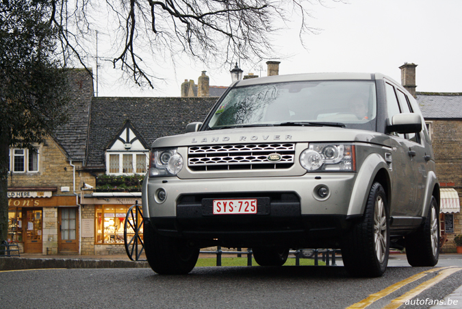 Rijtest Land Rover Discovery 4