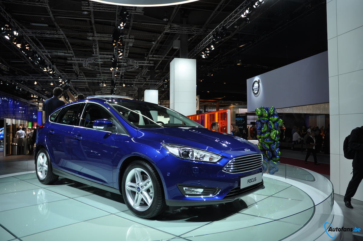 ford focus facelift parijs autofans