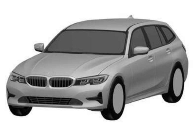 bmw 3 series touring patent drawings