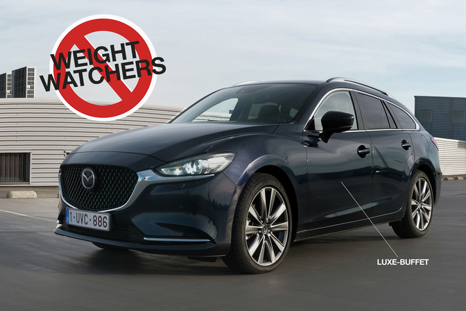 Mazda Mazda6 Facelift update test 2018
