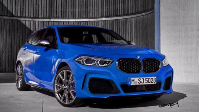BMW 1 Reeks Redesign 2019
