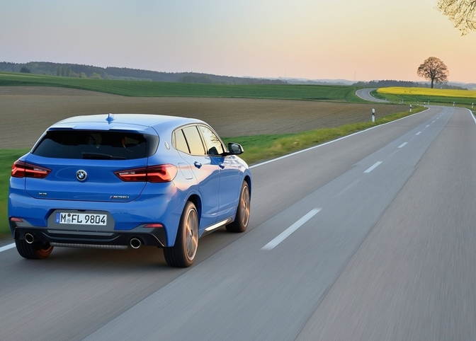 Rjitest BMW X2 M35i review Vlaams Nederlands