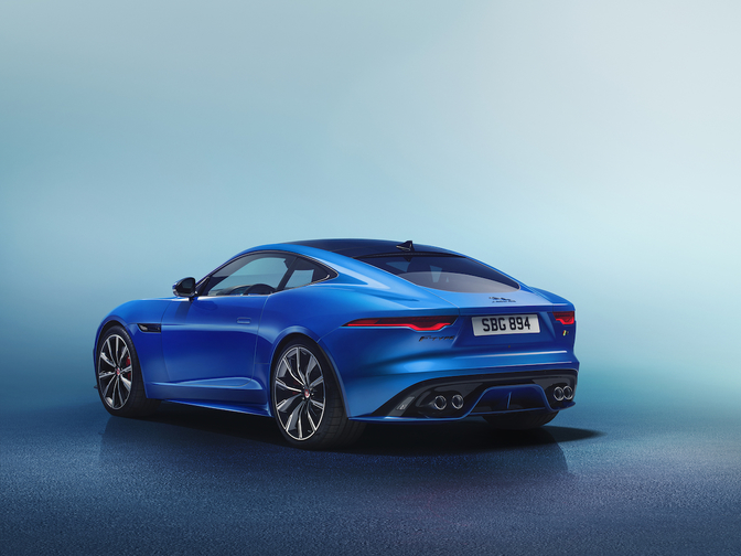 Jaguar F-Type facelift 2019