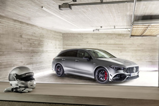 Mercedes-AMG CLA45 Shooting Brake (officieel) 2019