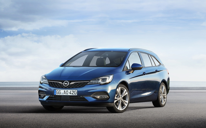 opel astra facelift 2019