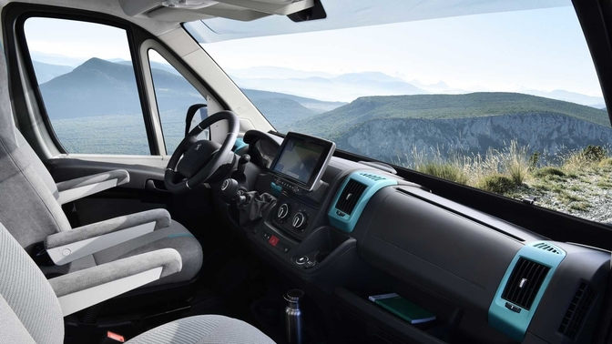 Peuget Boxer 4x4 concept 2019 Mobilhome