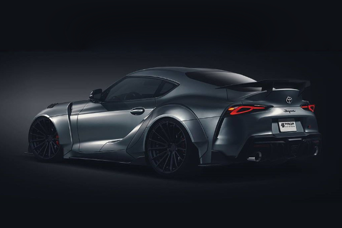 prior design toyota supra 2019