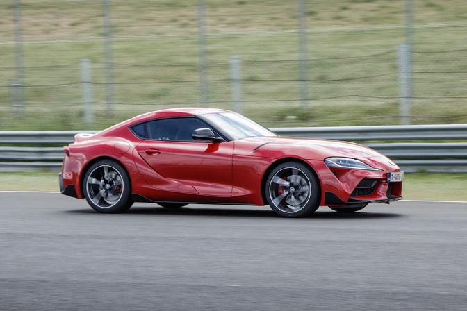 Toyota GR Supra rijtest video 2019 Belgie Vlaams