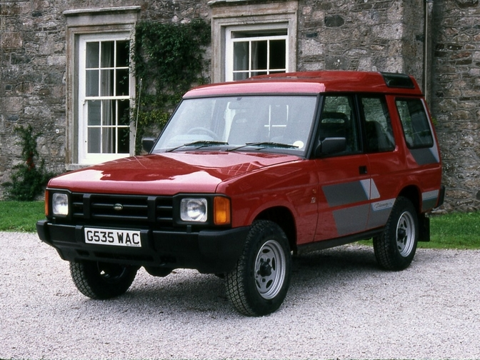 land rover discovery 3-door 1989