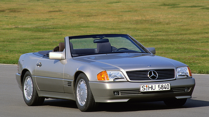 mercedes-benz 500 sl 1989