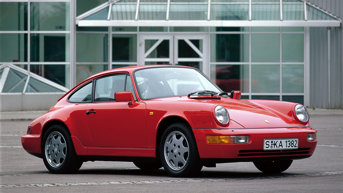 porsche 911 carrera 2 coupe 1989