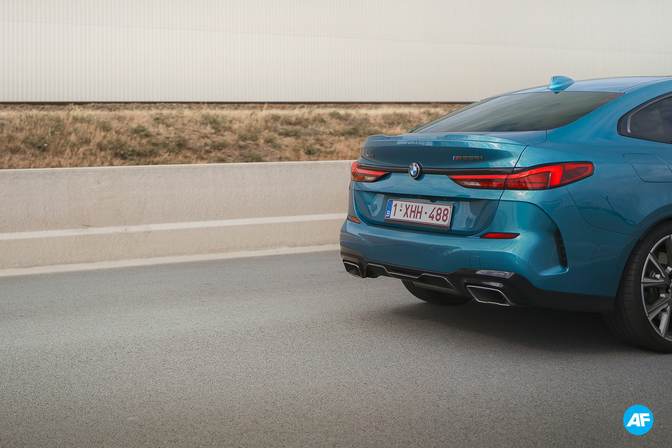 BMW M235i Gran Coupe rijtest review