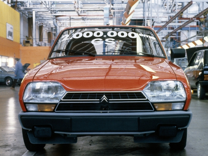 citroen gs 50 years