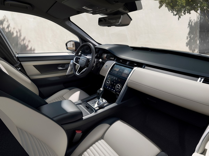 Discovery Sport black edition 2020 interieur