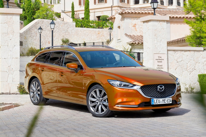 Mazda Garibaldi Orange 1 April 2020