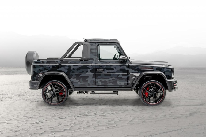 Mansory Mercedes-AMG G 63 Star Trooper Pickup 2020