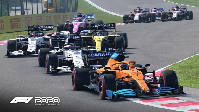 F1 2020 game Review test PS4