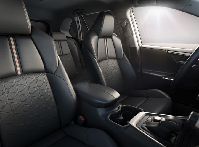 Toyota RAV4 Adventure 2021 seats