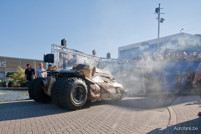 Tumbler batman in Antwerpen