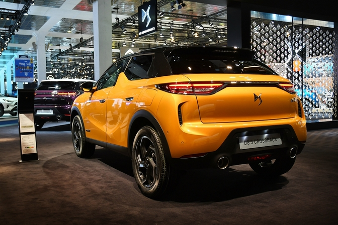 DS 3 Crossback suv autosalon brussel 2019