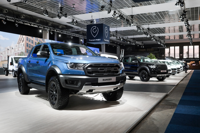 ford ranger raptor autosalon brussel