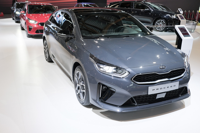 kia proceed autosalon brussel