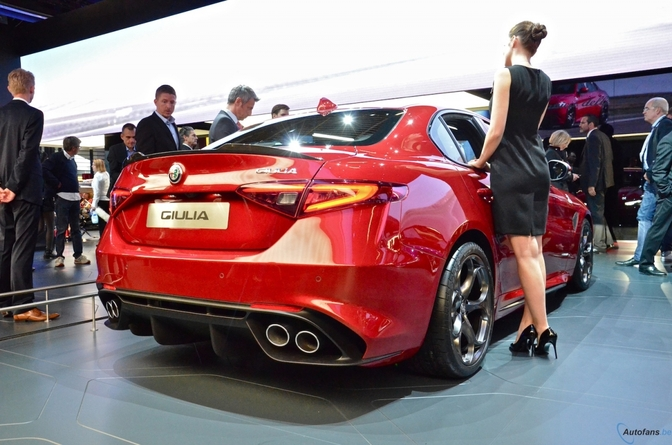 Alfa Romeo Giulia on Alfa Romeo 145