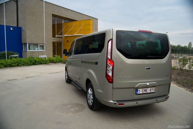 Rijtest: Ford Tourneo Custom 2.2 TDCi