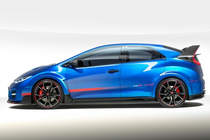 honda civic type r 2014 2015 autosalon paris mondial