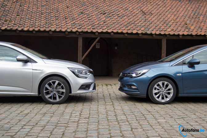 Duotest Opel Astra Turbo Vs Renault Megane Tce Autofans
