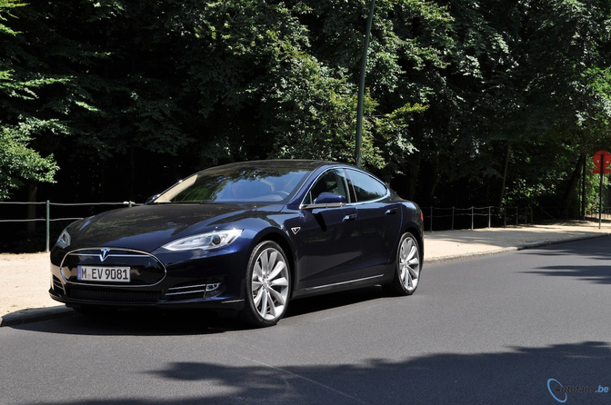 Tesla Model S in België