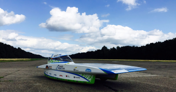 groep t solar car punch powertrain kuleuven