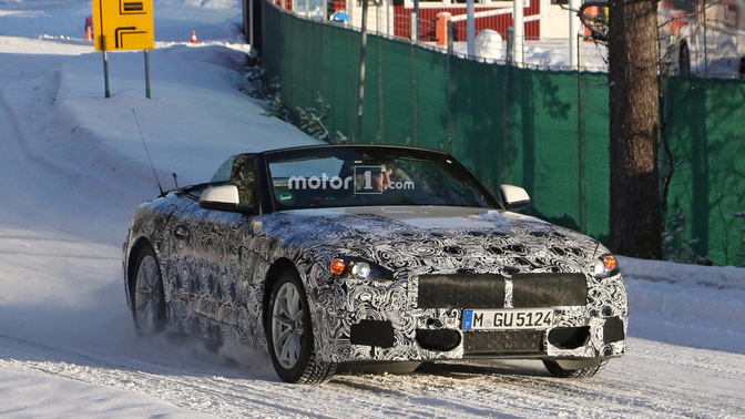2018-bmw-z4-spy-photo