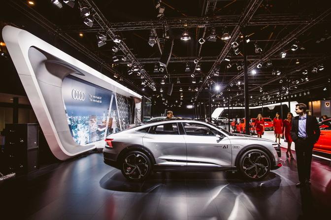 Reeds Meer Dan 200 Belgische Reserveringen Voor Elektrische Audi E