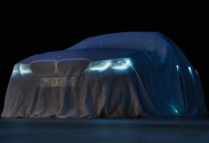 BMW 3-Reeks 2018 teaser