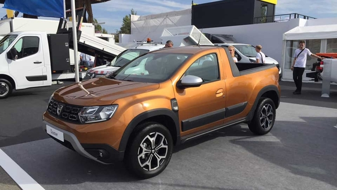 Dacia Duster pickup 2019