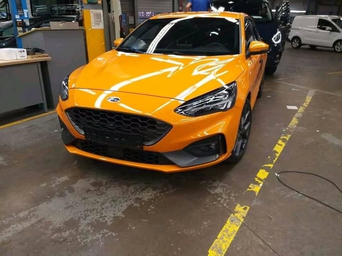 ford focus st leaked