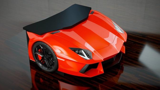 Lamborghini Aventador bureau