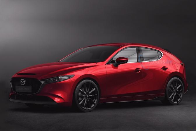 Mazda Mazda3 MPS info Render