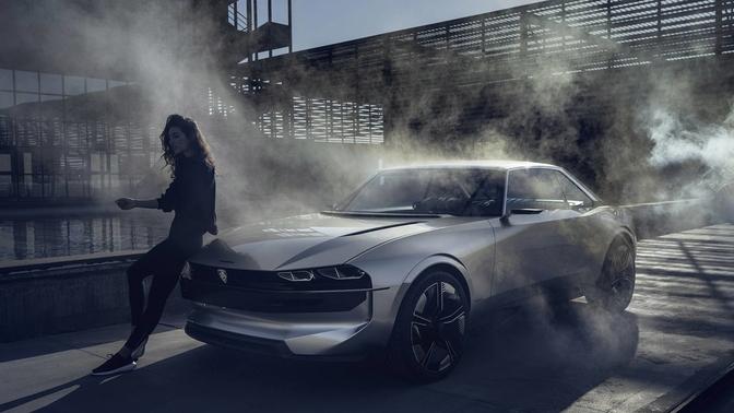 Peugeot Komt Met Cool E Legend Concept Autofans