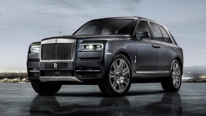 Officieel Rolls Royce Cullinan 2018 Autofans