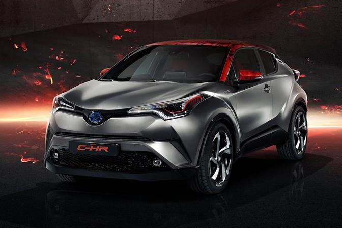 Toyota Lanceert Elektrische C Hr In 2020 Autofans