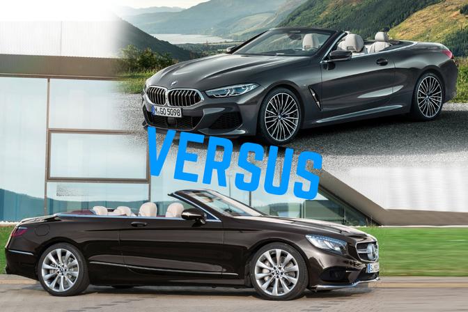 BMW 8 Cabrio vs Mercedes S Cabrio