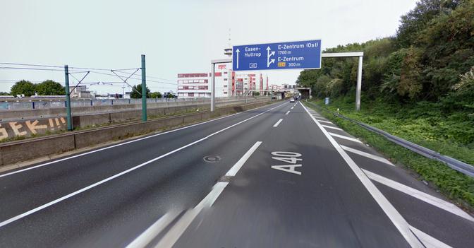 google-maps-essen-autobahn