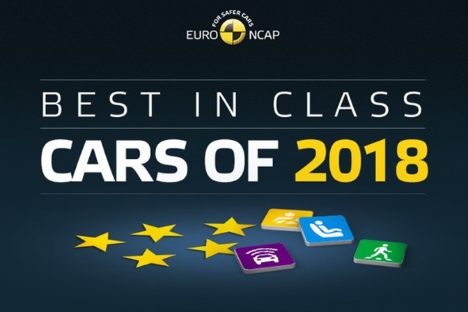 Euro Ncap awards 2018